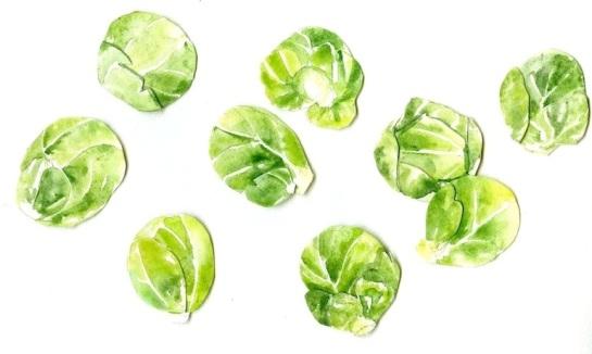 Brussel sprouts- Jessie Kanelos Weiner- thefrancofly.com