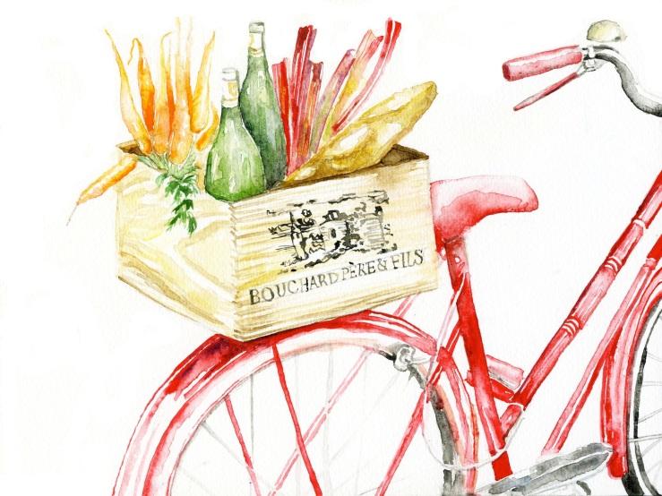 Jessie Kanelos Weiner-thefrancofly.com-grocery bike