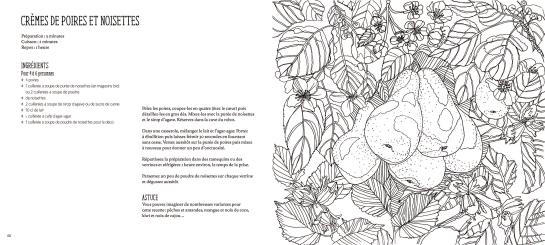 Recettes du jardin a colorier et a cuisiner, Editions Mango 2