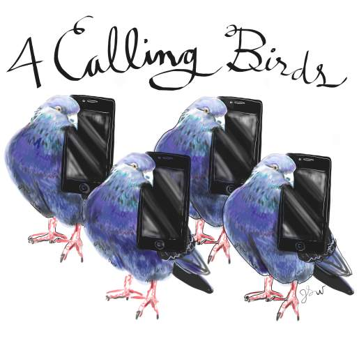 Calling Birds 12 Days Christmas >> illustrated food blog | thefrancofly