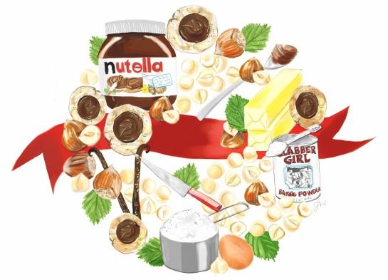 Nutella cookies recipe 3