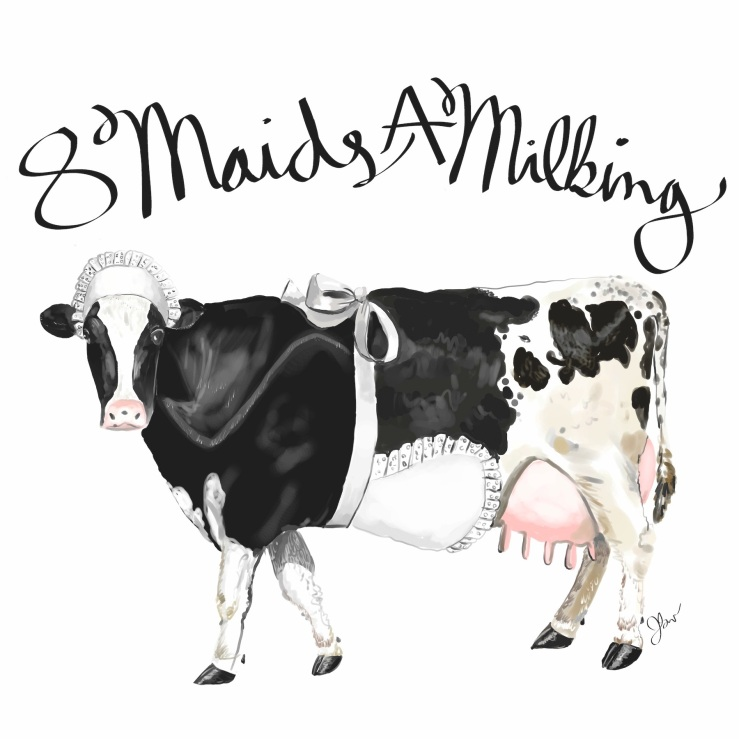 Maids a milking LD