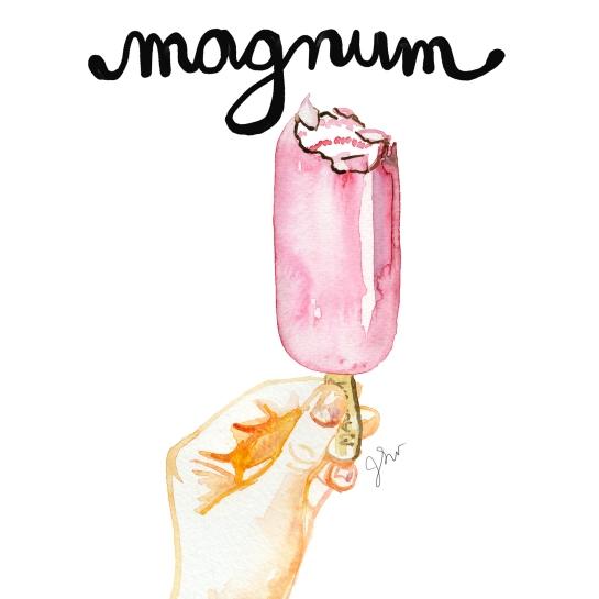 magnum text